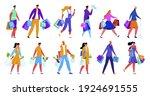 vector illustration set ...   Shutterstock .eps vector #1924691555