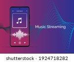 music streaming mobile app...