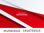 modern stylish red background... | Shutterstock .eps vector #1924755515