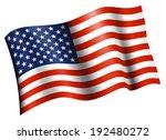 american flag   star spangled... | Shutterstock .eps vector #192480272