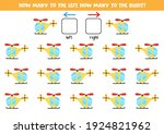 left or right with cartoon... | Shutterstock .eps vector #1924821962