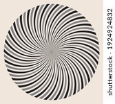 circle with lines as optical... | Shutterstock .eps vector #1924924832
