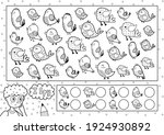 I Spy Game Coloring Page For...