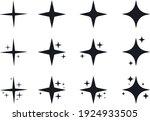 set of original vector stars... | Shutterstock .eps vector #1924933505