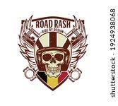 road rash ride by design | Shutterstock .eps vector #1924938068