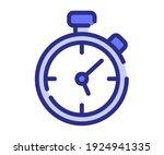 stop watch timer counter single ...   Shutterstock .eps vector #1924941335