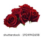 Beautiful Bouquet Of Red Roses...