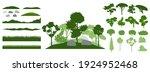 design elements of decorative... | Shutterstock .eps vector #1924952468