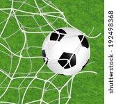 soccer concept   goal. soccer... | Shutterstock . vector #192498368