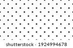 black star seamless pattern on... | Shutterstock .eps vector #1924994678