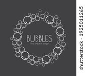 natural realistic bubble...   Shutterstock .eps vector #1925011265