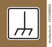 frame chassis symbol sign on a... | Shutterstock .eps vector #1925088002