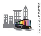 bus logo transportation concept ... | Shutterstock .eps vector #1925097758
