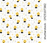 cute seamless pattern with...   Shutterstock .eps vector #1925107382