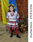 Little Girl In Ukrainian...