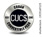 cuba money icon isolated on... | Shutterstock .eps vector #1925169125