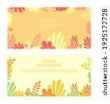 flat minimal background. vector ... | Shutterstock .eps vector #1925172728