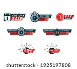 beautiful sale tags  style... | Shutterstock .eps vector #1925197808