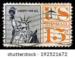 united states   circa 1961  a... | Shutterstock . vector #192521672