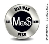 mexico money icon isolated on...   Shutterstock .eps vector #1925225612