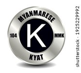myanmar  burma money icon...   Shutterstock .eps vector #1925229992