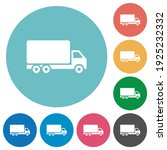 freight car flat white icons on ... | Shutterstock .eps vector #1925232332
