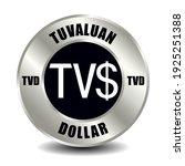 tuvalu money icon isolated on... | Shutterstock .eps vector #1925251388