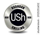 uganda money icon isolated on... | Shutterstock .eps vector #1925251652