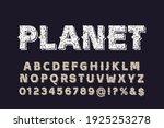 typeface vector design ... | Shutterstock .eps vector #1925253278