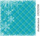 blue christmas background ... | Shutterstock .eps vector #19252558