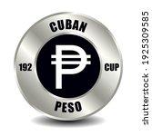 cuba money icon isolated on... | Shutterstock .eps vector #1925309585