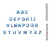 initial letter alphabet pixel...   Shutterstock .eps vector #1925410595