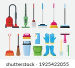 cleaning service tools... | Shutterstock .eps vector #1925422055