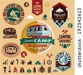Camping Icons. Camping...