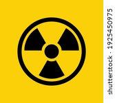 radioactive icon. radioactive...