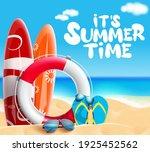 summer time vector banner... | Shutterstock .eps vector #1925452562