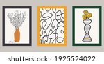 abstract poster collection. set ... | Shutterstock .eps vector #1925524022
