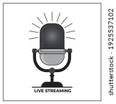 podcast icon. great vectors for ... | Shutterstock .eps vector #1925537102