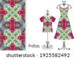 fashion art collection  vector... | Shutterstock .eps vector #1925582492