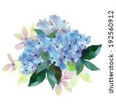 watercolor style  illustration... | Shutterstock . vector #192560912