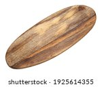 New Wooden Board Isolated On...