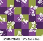 silhouettes of clover flowers... | Shutterstock .eps vector #1925617568