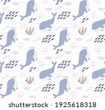 seamless pattern with cute... | Shutterstock .eps vector #1925618318