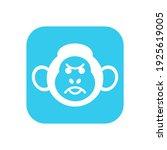 monkey head logo design eps | Shutterstock .eps vector #1925619005