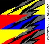 racing car wrap design vector | Shutterstock .eps vector #1925623265
