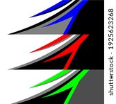 racing car wrap design vector | Shutterstock .eps vector #1925623268