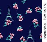 seamless beautiful vector... | Shutterstock .eps vector #1925623472