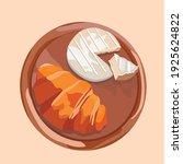 small flour confection ... | Shutterstock .eps vector #1925624822