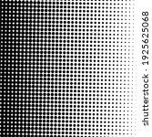 black halftone background.... | Shutterstock .eps vector #1925625068