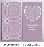 set of decorative cards with... | Shutterstock .eps vector #1925628218